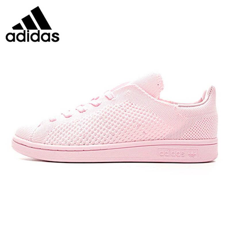 ADIDAS Shamrock Stan SmithWomen's Walking Shoes , Pink, Non-Slip Breathable Shock-Absorbing Lightweight S80064 adidas stan smith shamrock men s and women s walking shoes pink grey balance lightweight breathable s75075 s80024