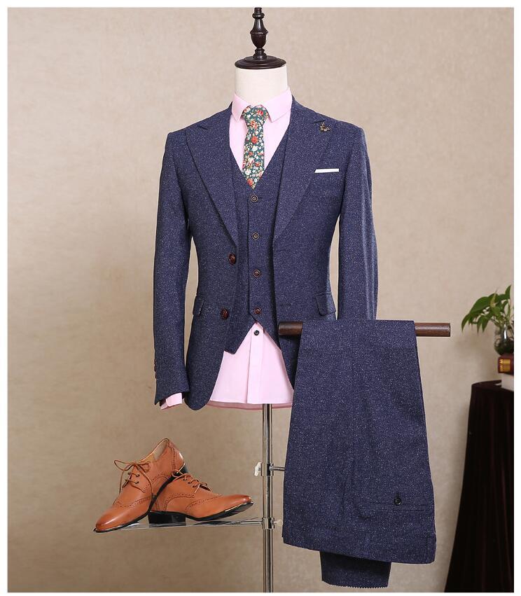 New Arrival Formal Meeste ülikonnad Pulmakleidid meestele Groommen - Meeste riided - Foto 6