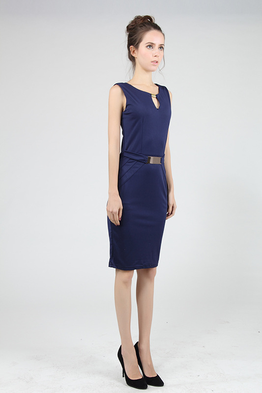 Elegant 2017 Sequin Office Party Dresses Plus Size 4XL Midi Bodycon ...