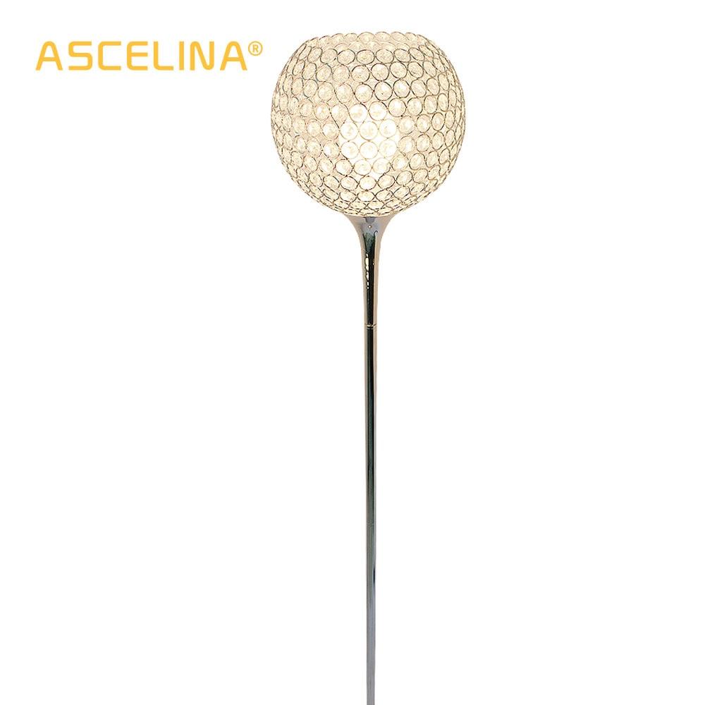 Image 5 - Floor Lamp crystal floor lamp Modern Floor Light LED E27 torso lighting 1.6m high Living room bedroom study decoration light-in Floor Lamps from Lights & Lighting