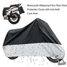 Waterproof Motorcycle Covers UV Protector Rain Cover Protection Dustproof Case Cloth funda para moto