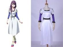 Tokio Ghoul Rize Kamishiro Cosplay Del Vestido Del Traje del Anime Del Traje de Halloween