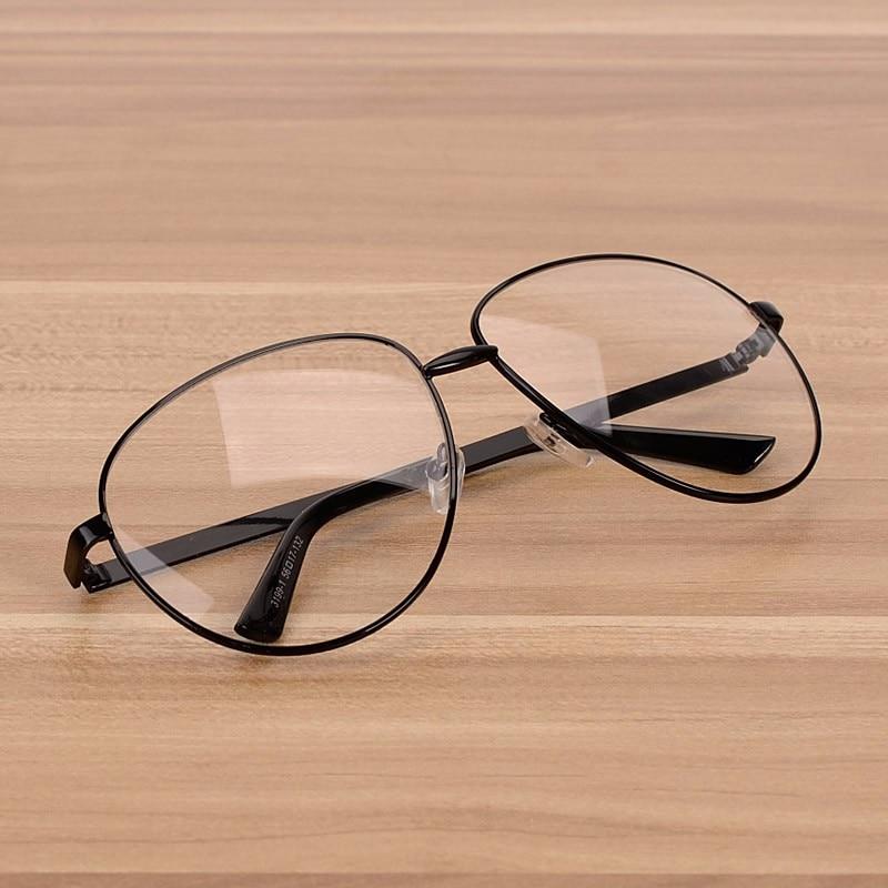 Ženska velika okvirna očala znamke NOSSA Ženska kovina prozorna - Oblačilni dodatki - Fotografija 3