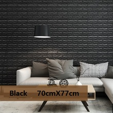 3d wall treatments 3 d 70cmx77cm pe form 3d wall stickers living room brick pattern paper stickie kids bedroom home free shipping on painting supplies treatments in