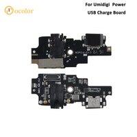 Cor para umidigi power usb placa de carga novas peças reposição para umidigi power usb plug placa carga acessórios do telefone
