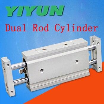 YIYUN двойного действия биаксиальный цилиндр с двусторонним штоком CXSWM32-10 CXSWM32-15 CXSWM32-20 CXSWM32-25 CXSWM32-30 35, 40 45 50 CXSW серии