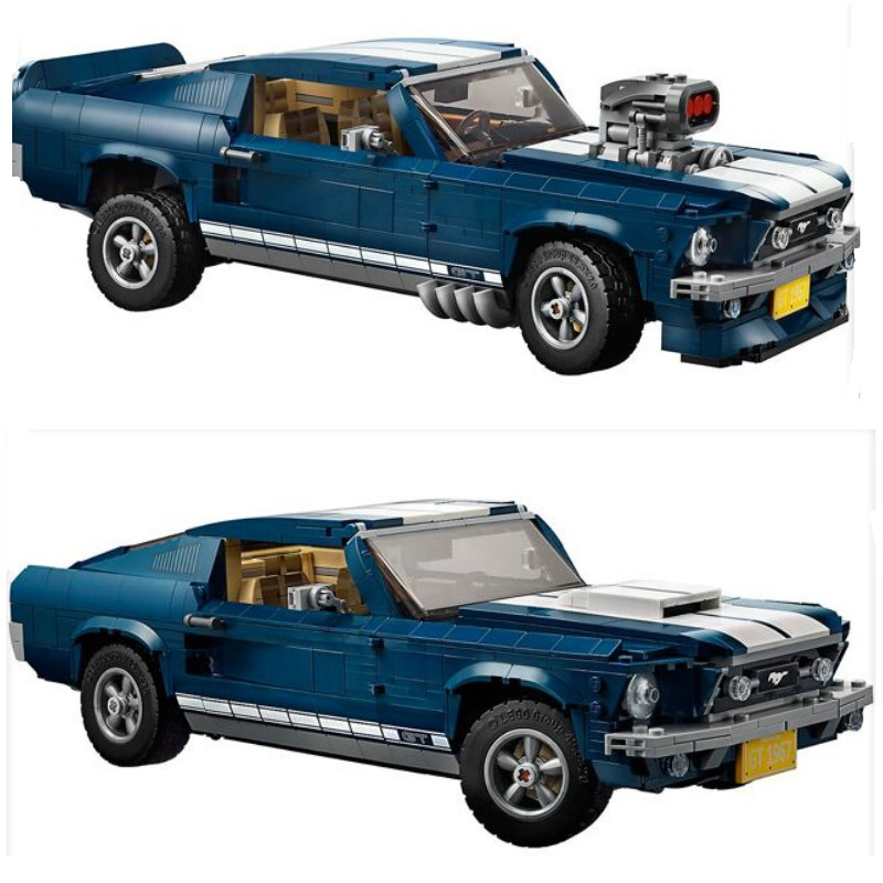 Forded Mustanged 21047 Creator Expert Technic Compatible 10265 Building Blocks Bricks Assembled DIY Toys Birthday Christmas