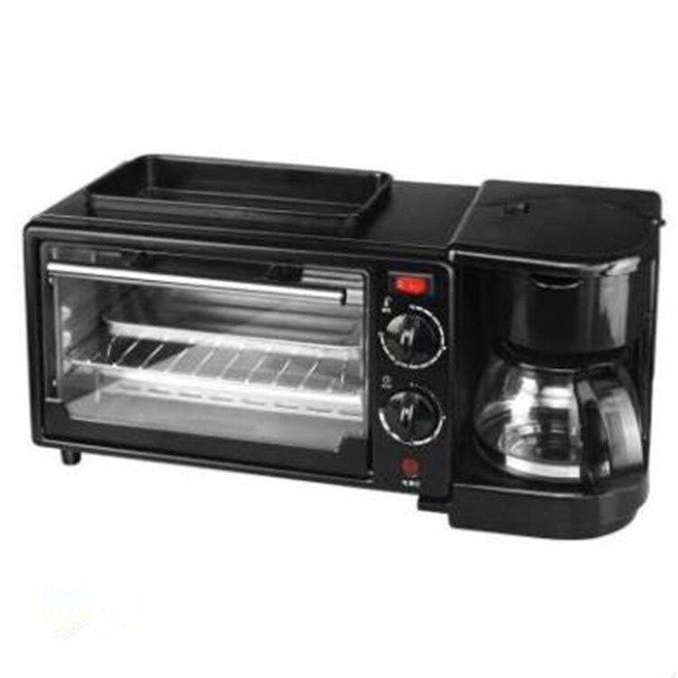 Cafetière petit déjeuner machine pan boulangerie four électrique grille pain cafetière machine à pain petit déjeuner machine à pizza