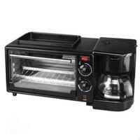 Coffee maker breakfast machine pan bakery electric oven toaster coffee maker bread machine breakfast maker pizza maker