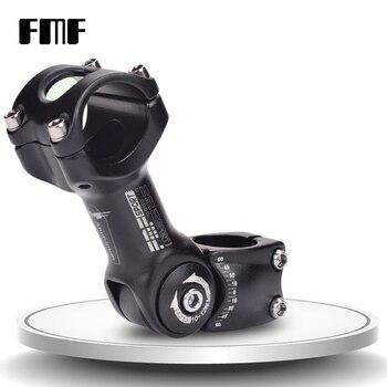 FMF Nieuwste Fiets Stuurpen Verstelbare Hoek MTB Road mountainbike Stuurpen aluminium 6061 voor 31.8mm/25.4mm stuur bicycle stem bike stemmountain bike stem -