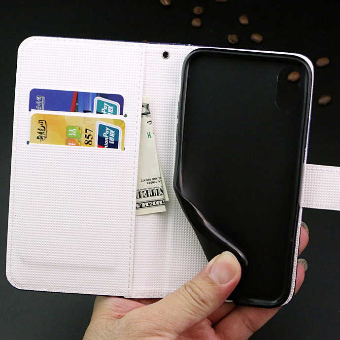 محفظة حالة ل OnePlus 7 برو 5G حالة مع بطاقة جيب ل OnePlus 3 3 T 6 6 T ماكلارين طبعة 7 برو منقوشة Kickstand حالة