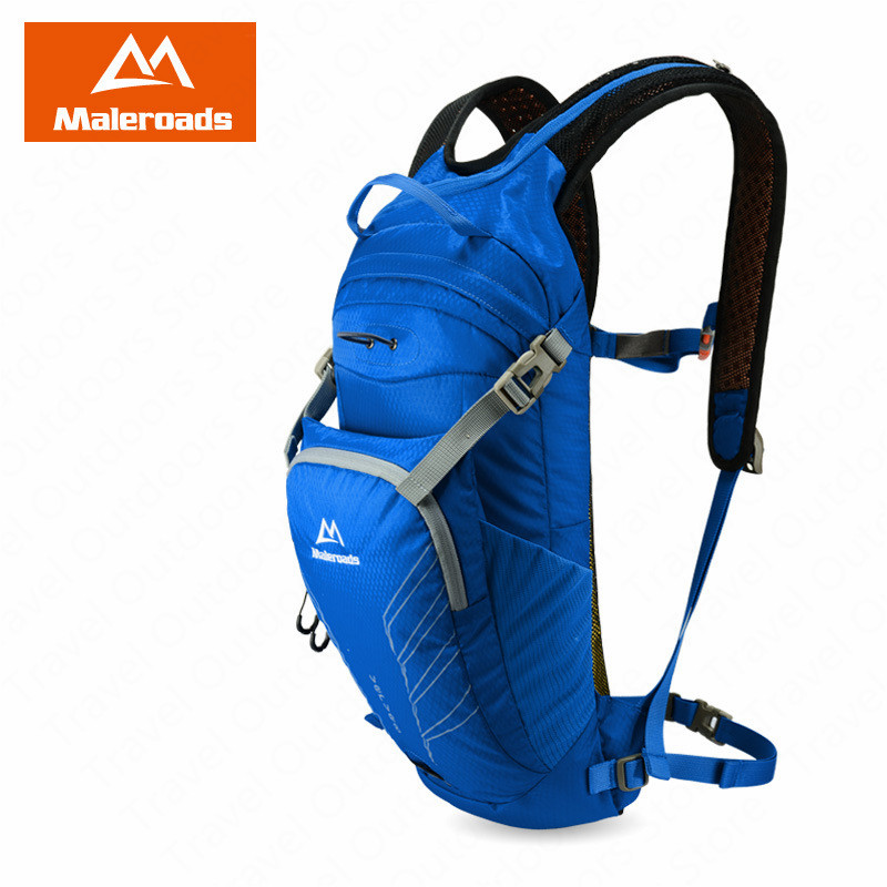 Maleroads Running Bags Outdoor 10L Running Backpack Water Running Vest Lightweight Marathon Backpack Sports Cycling Backpack