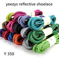 Hot Sale Fashion Polyester Paisley Reflective Shoelaces Ronds Visible Safety Cordon Shoe Lace 15 Colors 120-160cm Shoestring