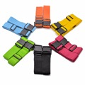 Luggage strap cross belt packing belt adjustable travel suitcase Nylon Non-Lock Buckle strap baggage belt ( Only Sell the Strap)
