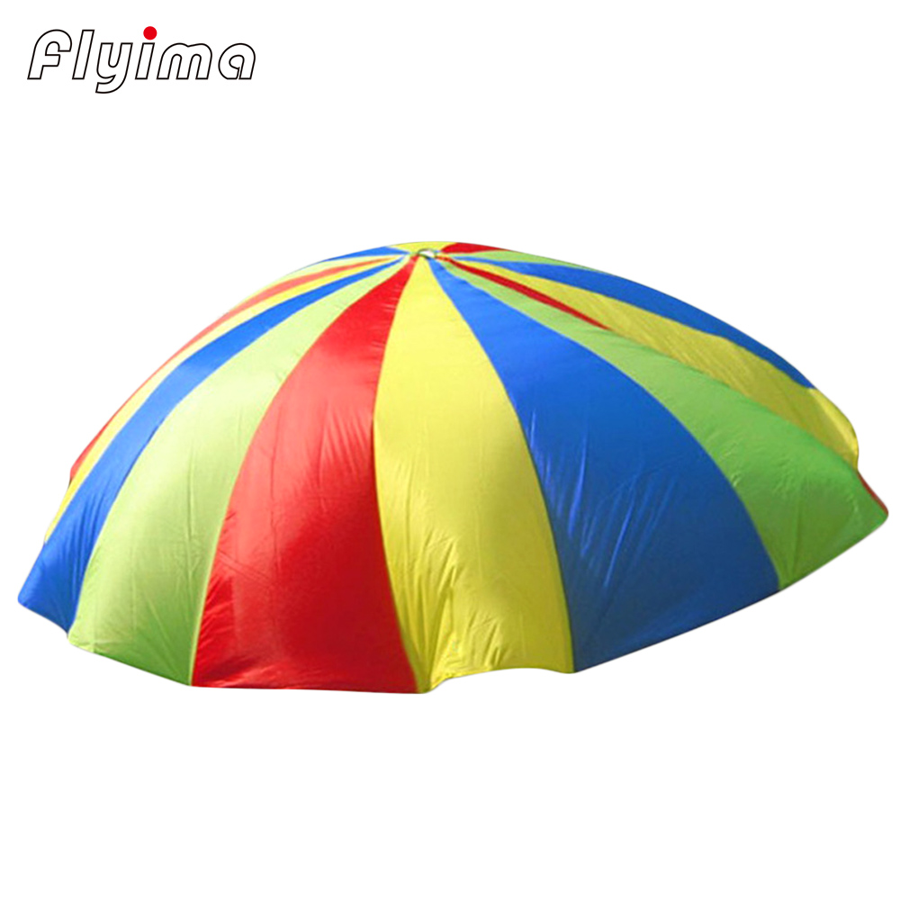 outdoor games Rainbow Umbrella inflatable birthday party decorations kids toys brinquedo Parachute Outing Camping Interactive ...