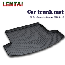 EALEN 1PC rear trunk Cargo mat For Chevrolet Captiva 2010 2011 2012 2013 2014 2015 2016 2017 2018 Boot Liner Tray Accessories fit for volvo xc60 2009 2017 boot mat rear trunk liner cargo tray floor carpet protector 2010 2011 2012 2013 2014 2015 2016