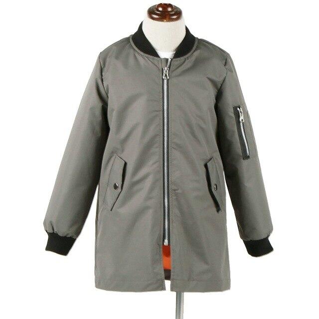 Привет сердце 2016 горячие Детская Мода Весна Длинные Winderbreaker Куртка Ветрозащитный Мальчиков Верхняя Одежда Пальто Детская Одежда