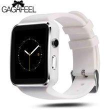 Gagafeel Bluetooth Smart Watch Men women X6 Sport Passometer with Camera Support SIM Card Whatsapp Facebook for Android Phone