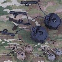 БЫСТРО шлем аксессуары держатель для гарнитуры COMTAC гарнитура Ops-тактический Core Шлем АРК Железнодорожный Адаптер для C1 C2 C4