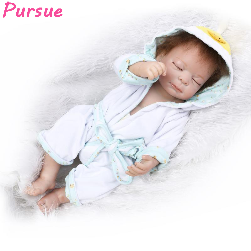Pursue Full Body Silicone Reborn Dolls Baby Reborn with Silicone Body Dolls Reborn Whole Silicone Toys for Girls Reborn Babies full silicone reborn dolls