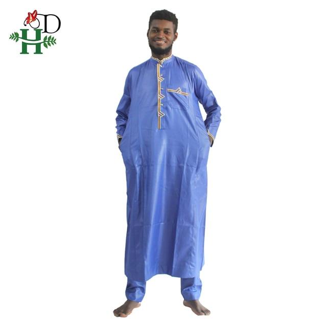 H & D الملابس الأفريقية الرجال 2020 رجل dashiki قميص أفريقيا بازان الثراء الزي الملابس القمم بانت الدعاوى vetement الأفريقية صب أوم
