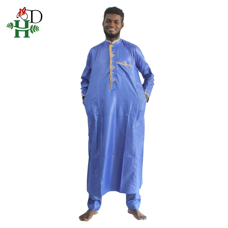 H&D african men clothing 2019 mens dashiki shirt africa bazin riche outfit clothes tops pant suits vetement africain pour homme
