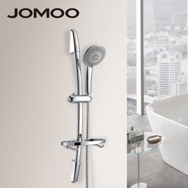 Jomoo Shower Head Set With Slide Bar Hook Soap Dish Bath Bathroom Accessories Hand Nozzle Watering Can