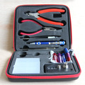 1 Pc/lot RDA bobina Tool Kit DIY Kit para RBA RDA RTA RDTA atomizador profesional bolsa herramientas de bricolaje que arrolla Kit E Cig accesorios