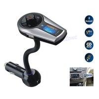 NOWA Bezprzewodowa Bluetooth Zestaw Samochodowy Odtwarzacz MP3 Radio Samochodowe Stereo cahrger LCD z Nadajnikiem FM Modulator USB + SD + pilot zdalnego Sterowania