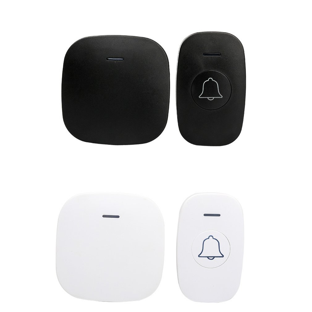 A3 Indoor Digital Wireless Mp3 <font><b>Doorbell</b></font> <font><b>Remote</b></font> 1 In 1 <font><b>Remote</b></font> Control Pager Smart Wireless <font><b>Doorbell</b></font> Old Man image