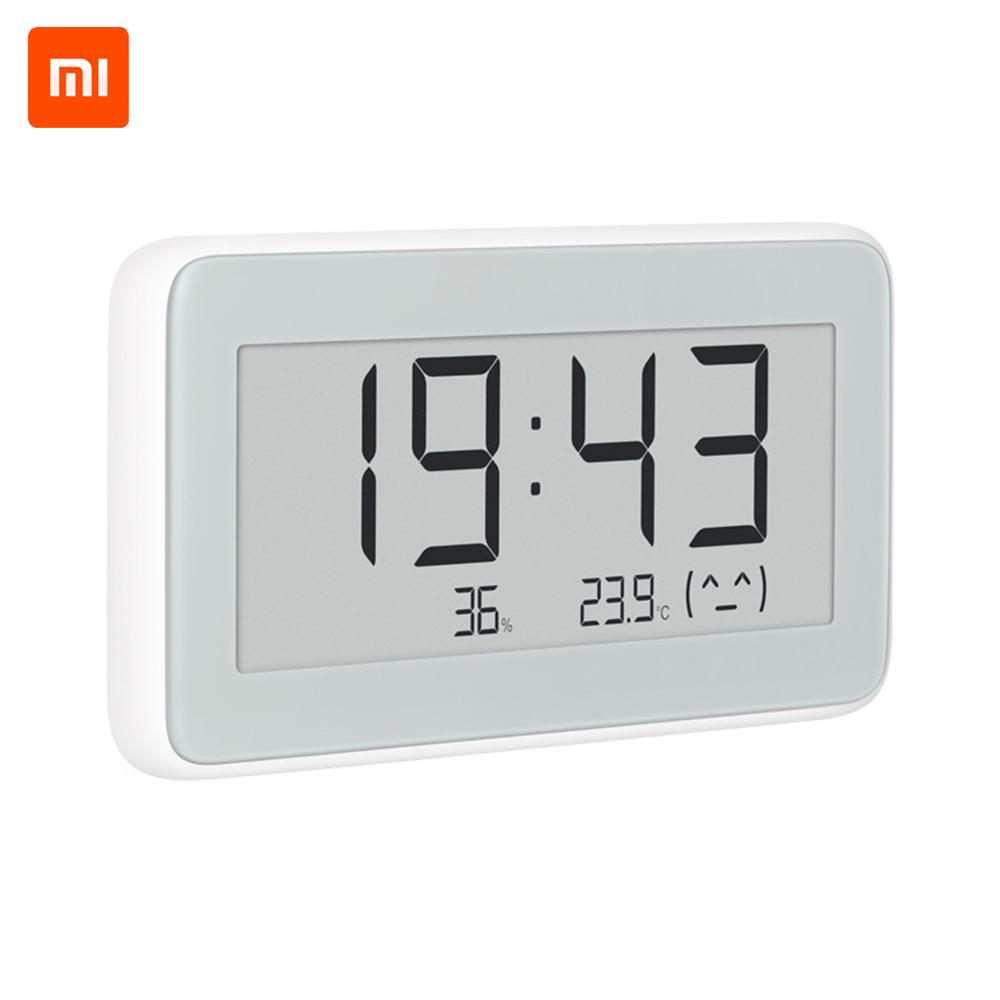 NEW Xiaomi Mijia Bluetooth Temperature Humidity Sensor E link LCD Screen Digital Thermometer Moisture Meter Smart Linkage Mi APP-in Smart Remote Control from Consumer Electronics