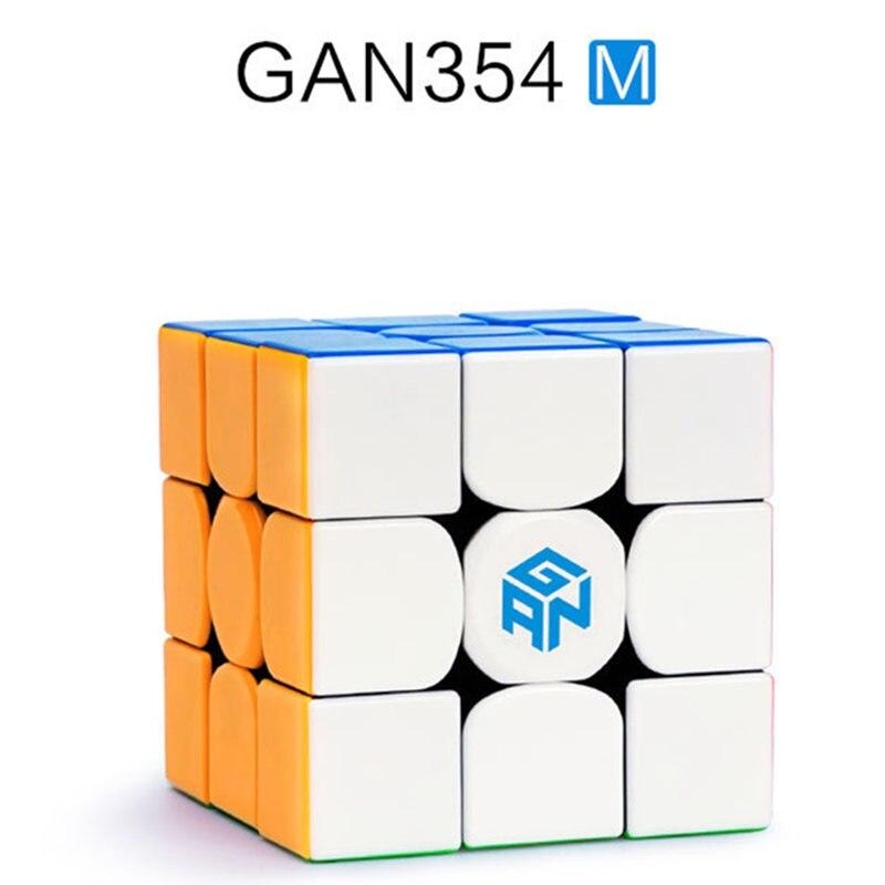 GAN 354 M 3x3 Cube de vitesse magnétique 3x3x3 Cube magique Gan 3*3 aimant professionnel Cubo Magico Puzzle jouets pour enfants - 2