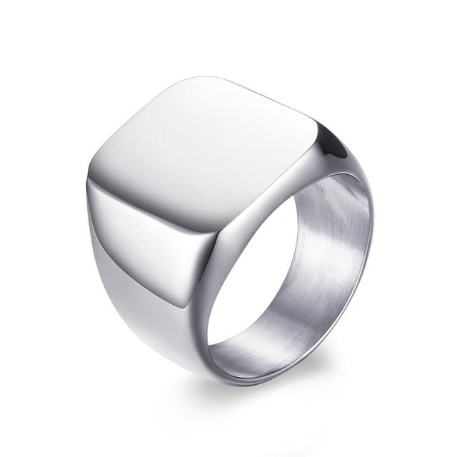 Men's Sleek Design Ring