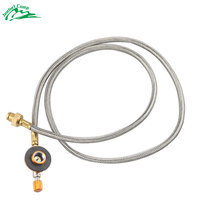 Jeebel 106cm Extend Tube Gas Stove Adapter Burners Outdoor Camping Propane Cylinders Tank Gas Adapter