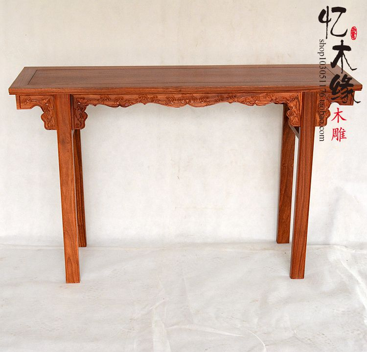 A few Chinese antique mahogany wood table flat case rosewood table your altar furniture a chinese style mahogany altar altar fokan african rosewood altar entrance hall table table