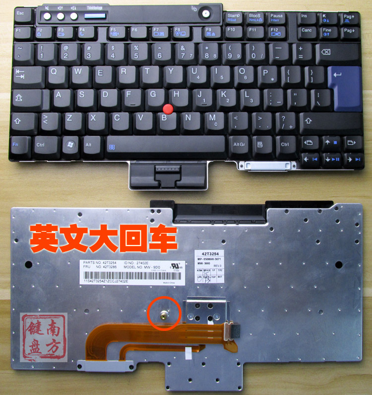 Replacement Keyboards Gyiygy Keyboard For Lenovo Ibm T60 T60p T61 R60 T400 R400 T500 W500 X61 X60 Laptop Keyboard