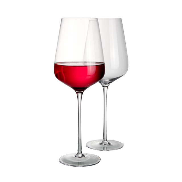Special offer high quality lead free crystal manmade red wine glass wine glassware large capacity wine glass 1100ml/38oz 900014