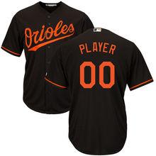 d47683ecf MLB Men s Baltimore Orioles Baseball Orange Cool Base Custom Jersey(China)