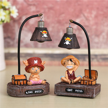 Nydoran One Piece lamp Night Light The Japanese Anime Monkey-D-Luffys/Tony Chopper Light Home Resin Ornaments Crafts Gift night light resin crafts night lamp cute mouse star light desktop home decoration lamp ornaments button battery power supply