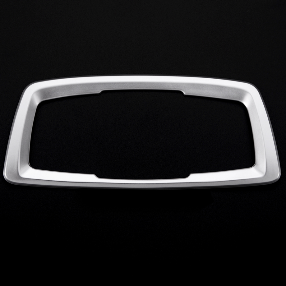 ABS Chrome Headlight Switch Cover Trim For BMW X1 f48 2016 Car Interior Accessory ...