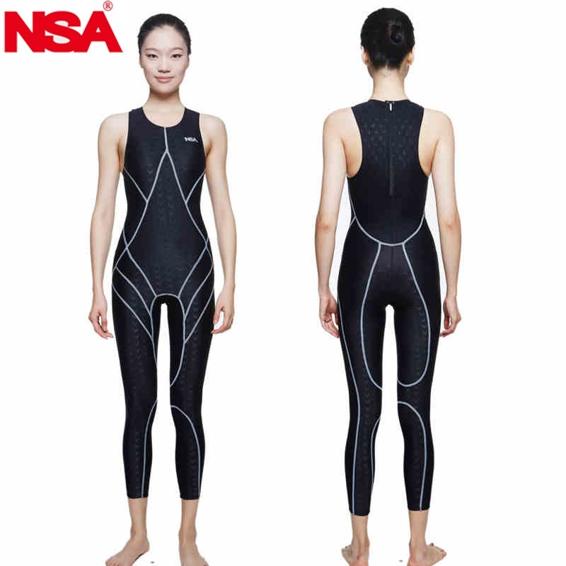 NSA swimsuit plus size swimwear arena women racing swimsuits competitive swimming competition shark professional training female swimsuit female yingfa swimwear swimming women swimsuits racing competition competitive swim suit training professional