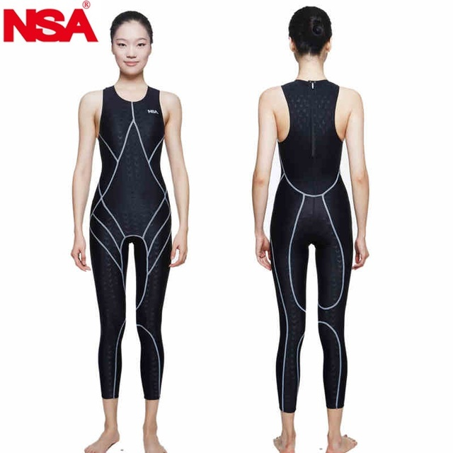 9c14dc7e5c NSA swimsuit plus size swimwear arena women racing swimsuits competitive  swimming competition shark professional training female