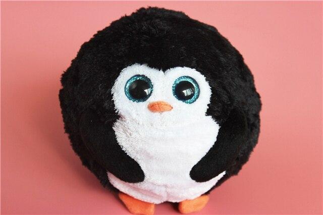 Ty Beanie Boos Round Penguins Cute Stuff Animal Plush Toy Kids Birthday Gift de99d71c15b