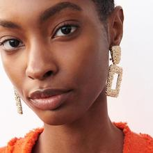 Brincos Sale Tassel Earrings Earing Brinco Bohemian Alloy Geometry Female For Women 2019 Newest Fashion European Drop