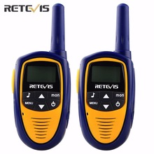 2 pcs Mini Retevis Walkie Talkie Kids Toy RT31 8/22CH 0.5W PMR446 VOX LCD Display Radio Children A9112