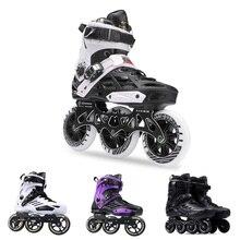 Роликовые коньки Japy, Профессиональные роликовые коньки для взрослых, 72 76 80 мм или 3*110 мм, слаломные скоростные патины, бесплатные гоночные коньки