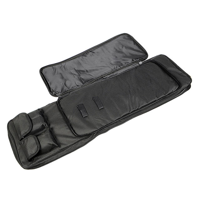 85 100 120cm Tactical Dual Rifle Carry Bag with Shoulder Strap Waterproof Military Airsoft Gun Case Pouch Protection Hunting Bag 3