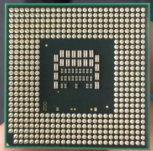 Image 2 - Intel Core 2 Duo T9500 CPU แล็ปท็อปโปรเซสเซอร์ CPU PGA 478 CPU 100% ทำงานได้อย่างถูกต้อง