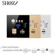 Para RJ45 USB criptografia WPS & Hotel Projeto de Gestão de 300 Mbps em Tomada de Parede AC Apoio router Wi-fi Ponto de Acesso AP sem fio