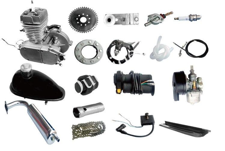 Горячая ! 80cc Электрический велосипед комплект двигателя для велосипеда